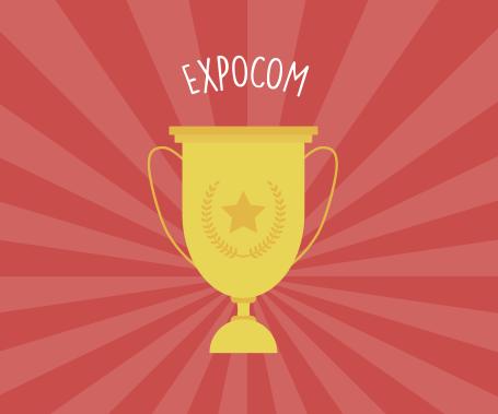 Expocom - troféu