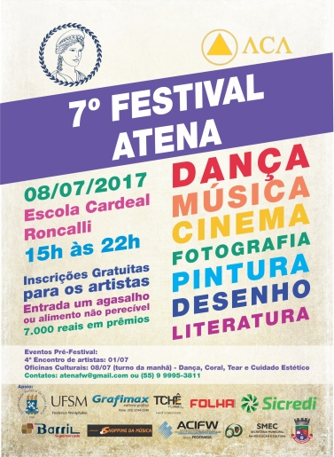 Flyer Festival Atena Frente