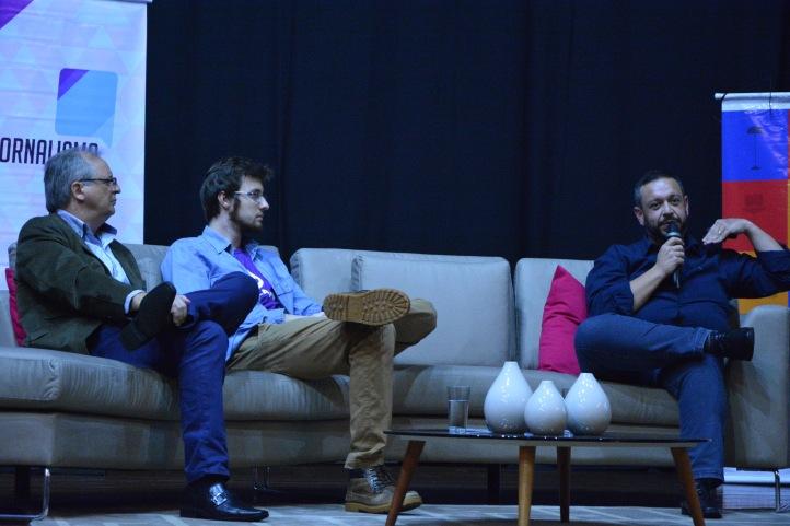 Palestrantes comentam sobre o assunto Foto Giuli Ana Izolan